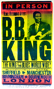 BB King United Kingdom Tour 2006 Hatch Show Print