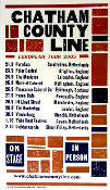 Chatham County Line European Tour 2005 Hatch Show Print