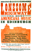Lonesome Highway Edinburgh 2004 Hatch Show Print