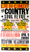 Country Soul Revue Barbican London 2005 Hatch Show Print