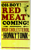 Red Meat Coming 2005 Tour Blank Hatch Show Print