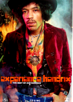 Jimi Hendrix Experience Best Of cd poster