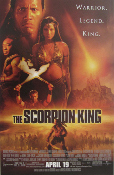 The Scorpion King 11 x 17 movie poster 200x
