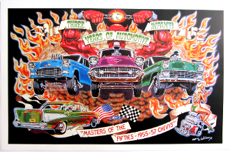 Robert Williams 55'-56'-57 Chevy's poster! (Last one)