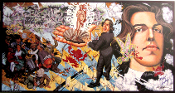 Robert Williams Oscar Wilde In Leadville 1990 signed SOLD