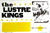 The Lustre Kings 2004 Tour Blank Hatch Show Print