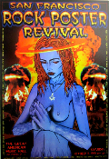 SF Rock Poster Revival GAMH 1999 Chris Shaw