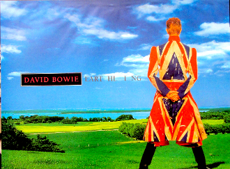 David Bowie EART HL I NG  (condition)