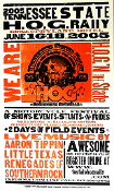 Tenn State H.O.G. Rally 2005 Hatch Show Print