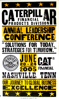 Caterpillar Leadership Conference Nashville 2005 Hatch