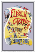 Flamin' Groovies Tour Europe 2016 Poster