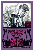The Flamin' Groovies Labor Day Wkend 2016 - Cyril Jordan art