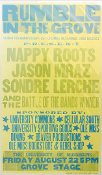 Rumble In The Grove 2003 Ole Miss Nappy Roots Hatch Show Print