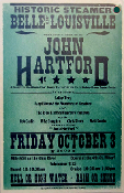 John Hartford on the Belle Of Louisville 2003 Hatch Show Print
