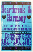 Heartbreak & Harmony 2003 St Paul Hatch Show Print
