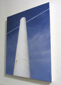 Cowell Smokestack #2 (color) 16x20 canvas Giclee Wall Hanging