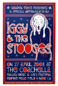 Iggy & The Stooges Coachella 2003 Dennis Loren 2nd signed