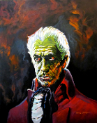 Vincent Price House Of Ushers. Cyril Jordan tribute painting