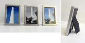 Cowell Smoke Stack mini picture frames (gold) 1 7/8x2 5/8