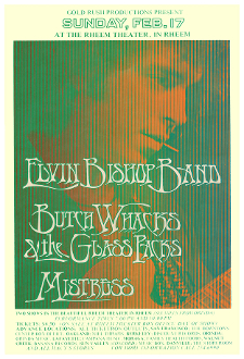 Elvin Bishop Butch Wax Mistress Rheem Theater 1974 digital