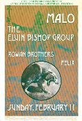 Malo Elvin Bishop Group Rowan Bros Stockton 1973 digital