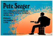 Pete Seeger Concert UC Berkeley 1971 new digital print