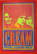 Cream 2005 Royal Albert Hall John Van Hamersveld Signed
