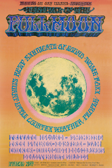 (04) Country Weather * Festival Of The Full Moon 1969 Art Print