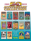 Classic Rock Poster Art Note Cards - 50th Anniv Collection
