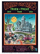 Flamin Groovies Trick Or Treat Tour 2019 painting by Cyril!