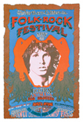 (01) Northern Ca Folk-Rock Festival 13x19 Art Print by C-MS (T-2