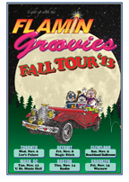 Flamin Groovies Fall Tour '13 poster * 13x19 offset * Mint